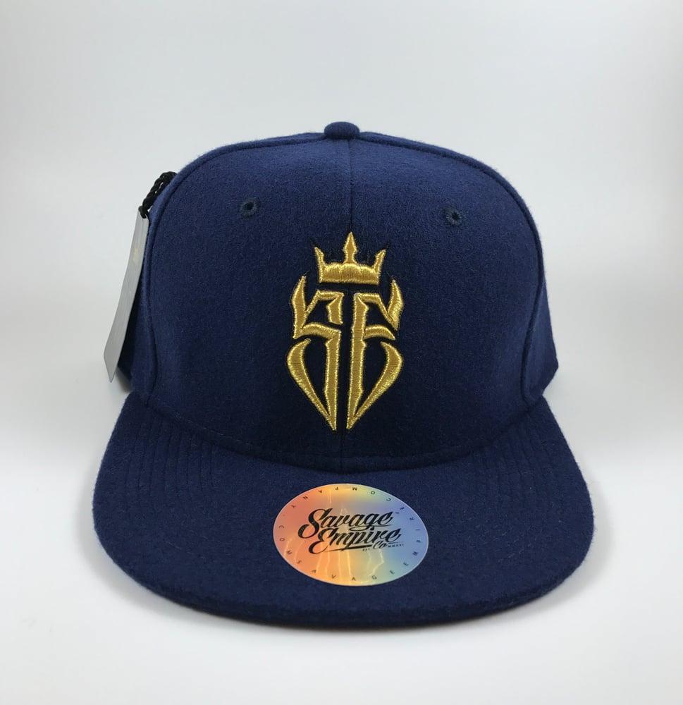 Image of Navy Blue & Gold SE Hats