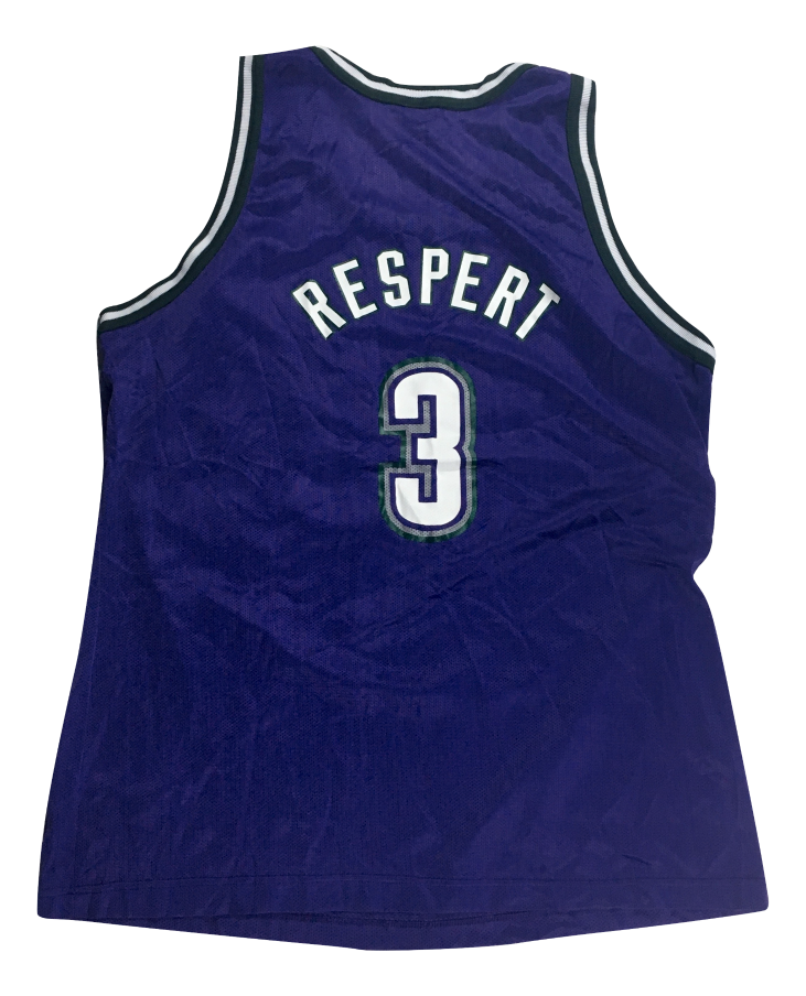 Image of Vintage Shawn Respert Milwaukee Bucks Jersey