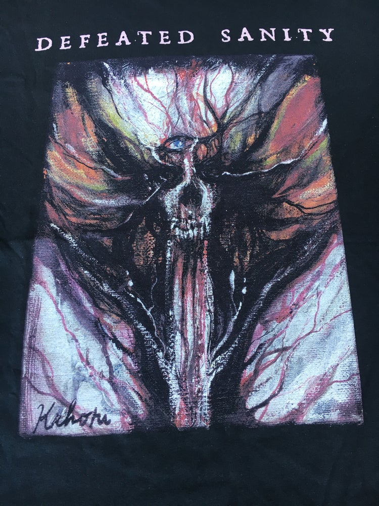 Image of DEFEATED SANITY - Dharmata T-Shirt (only XL)