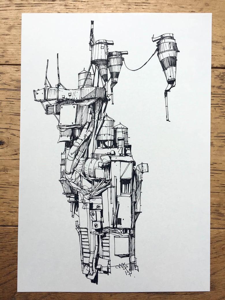 "Image of ""Duct World 3"" original artwork"