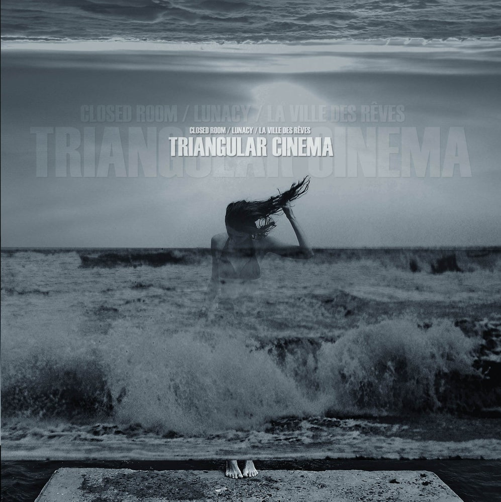 "Image of CLOSED ROOM / LUNACY / LA VILLE DES REVES - ""Triangular Cinema"" digipak CD"