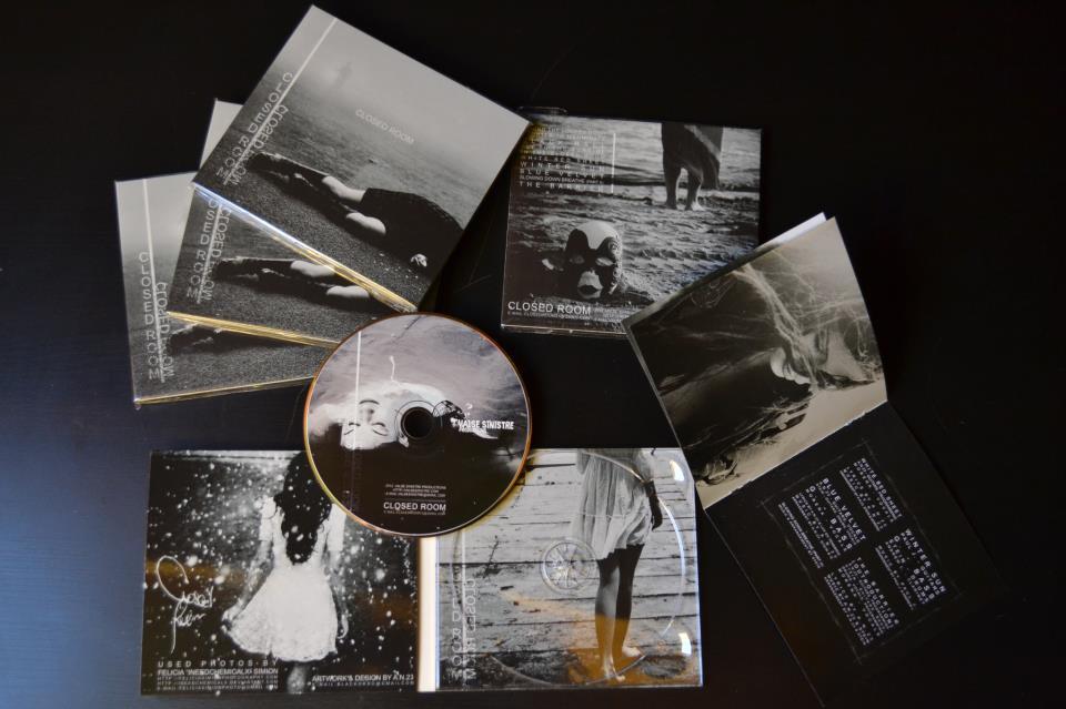"Image of CLOSED ROOM - ""Closed Room"" digipak CD"