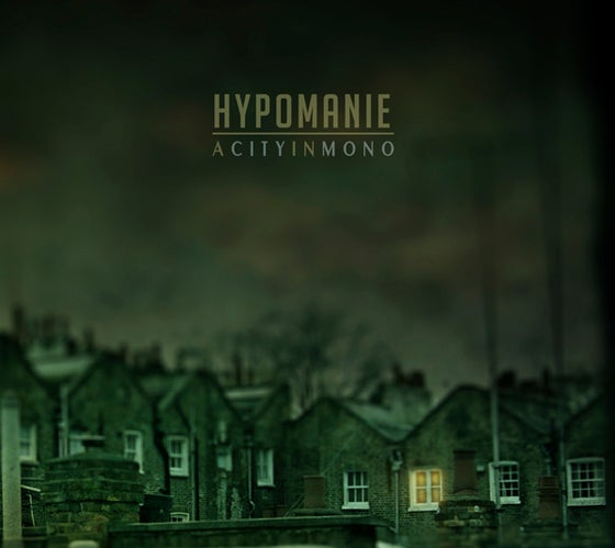 "Image of HYPOMANIE - ""A City In Mono"" jewel-case CD"
