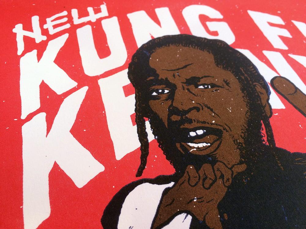 Image of Kung Fu Kenny risograph