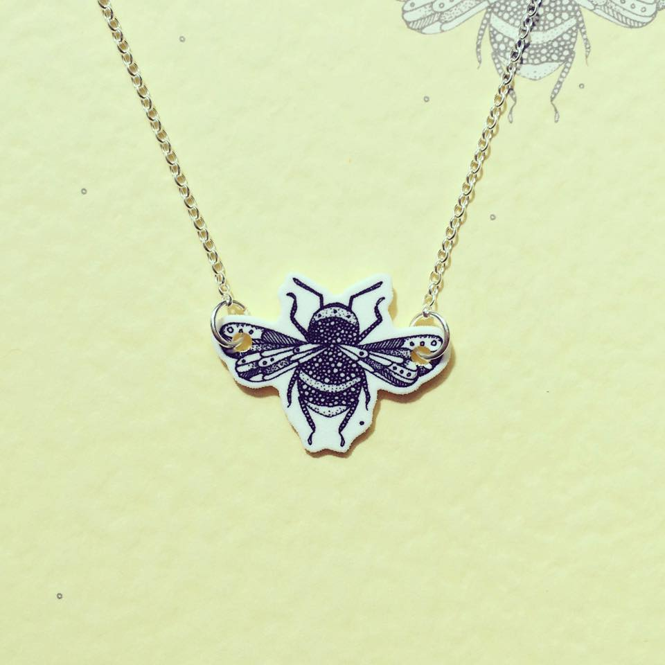 Image of Bumble Bee Necklace