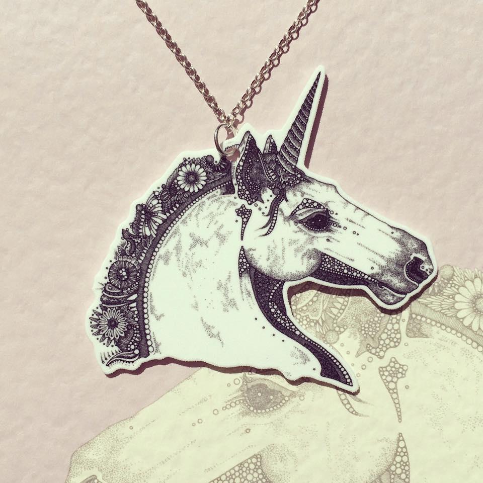 Image of Unicorn Necklace