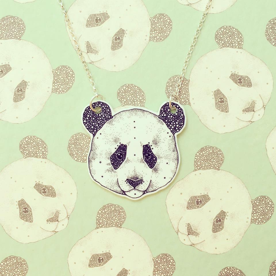 Image of Panda Necklace