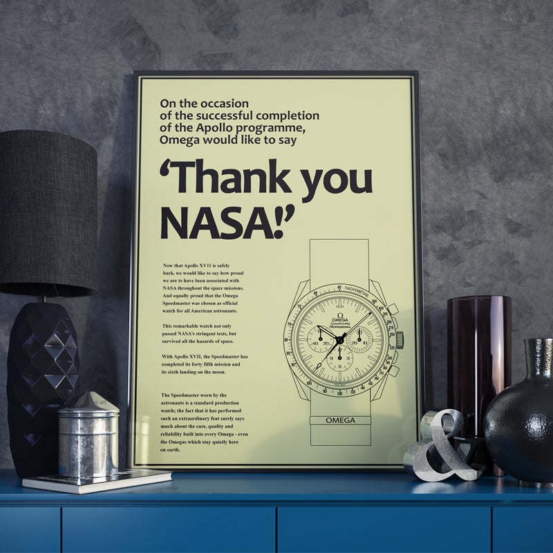 Image of SPEEDMASTER NASA ADVERT