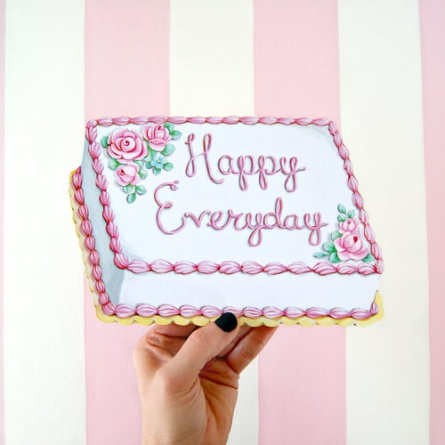 Image of Happy Everyday mini plaque