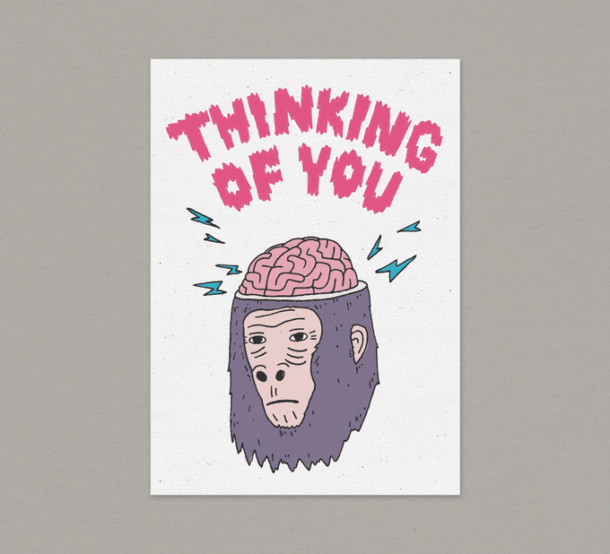 Image of Thinking Of You - Card