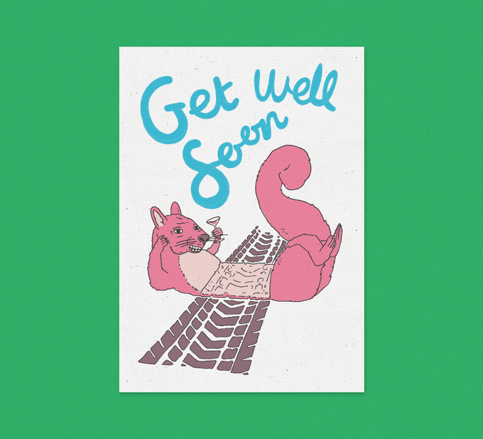 Image of Get Well Soon - Card