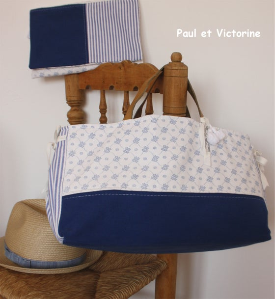 Image of *SAC ET POCHETTE* *BLUE SUMMER*