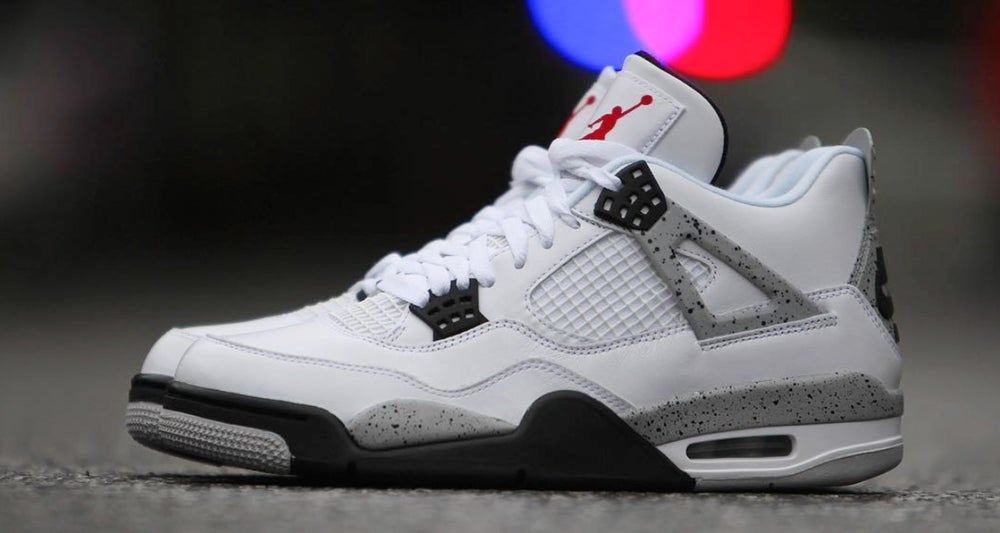 "Image of Air Jordan 4 ""White Cement"""