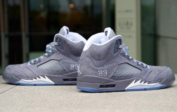 """Image of Air Jordan 5 """"Wolf Grey""""/ Graphite"""
