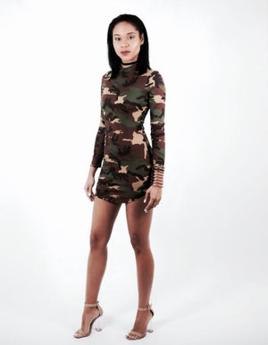 Image of Camo Mini Dress