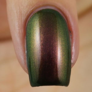 Image of Ooober – multichrome moves through green, red and copper
