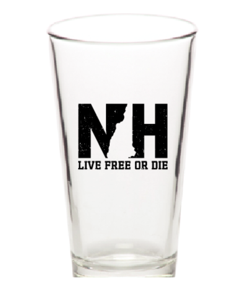 Image of NH 16oz Pint Glass