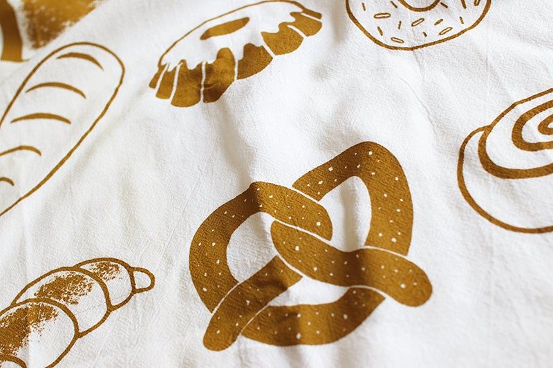 Image of Breads Tea Towel