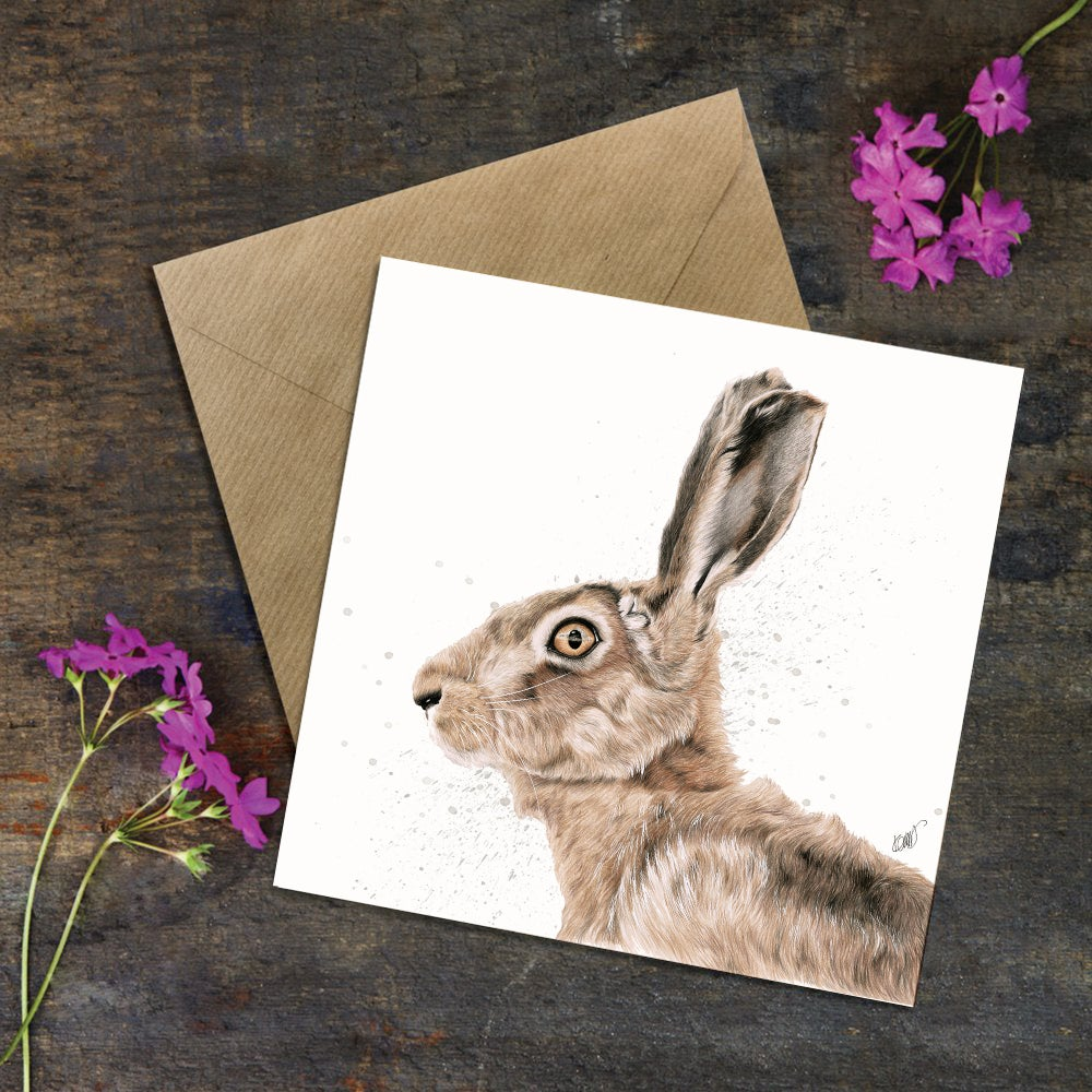 "Image of ""Bright Eyes"" GREETING CARD"