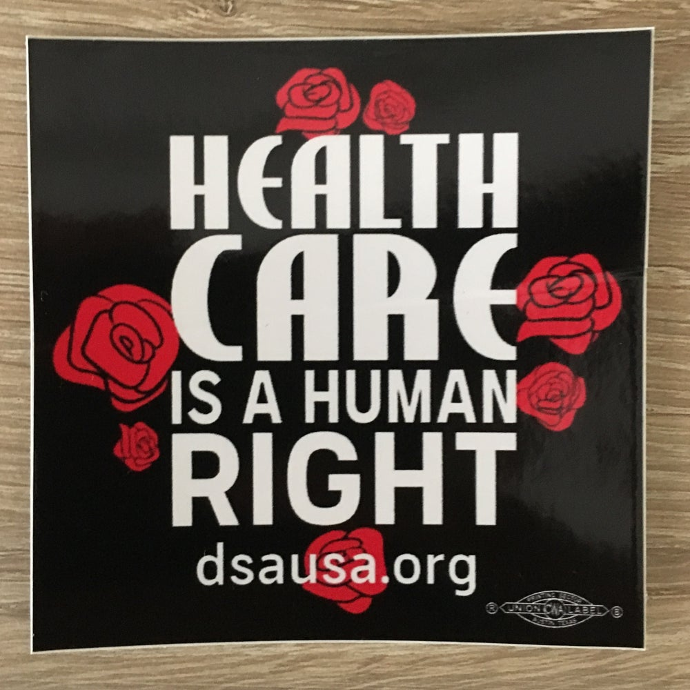 Image of Healthcare is a Human Right Sticker