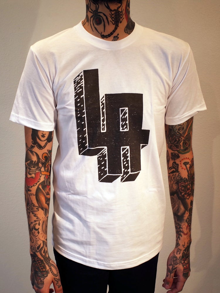 Image of Mens LA Shirt White