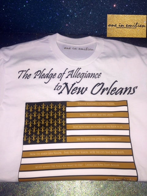 Image of New Orleans Pledge Men's Tee