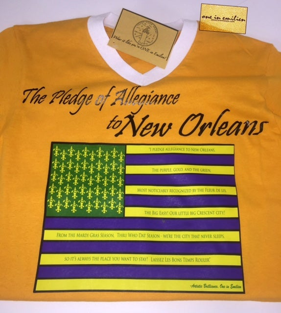 Image of New Orleans Pledge Men's Jersey