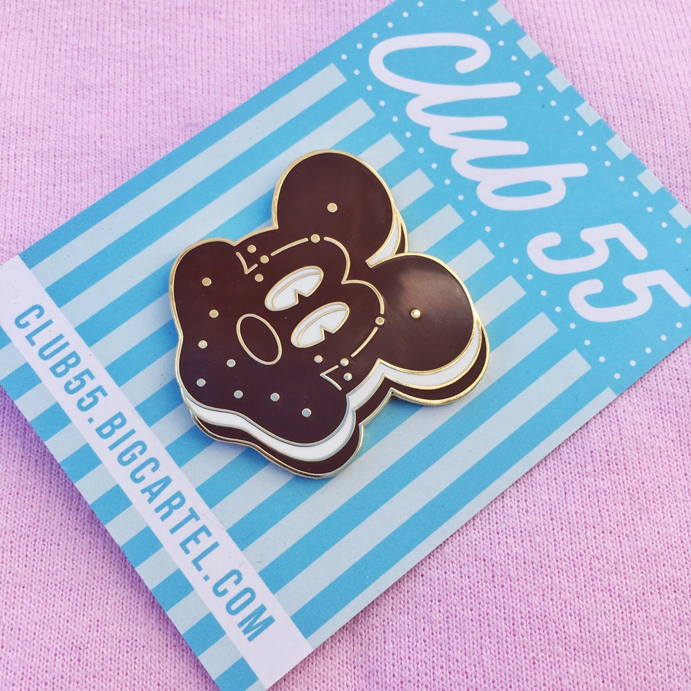 Image of Ice Cream Cookie Mouse Pin