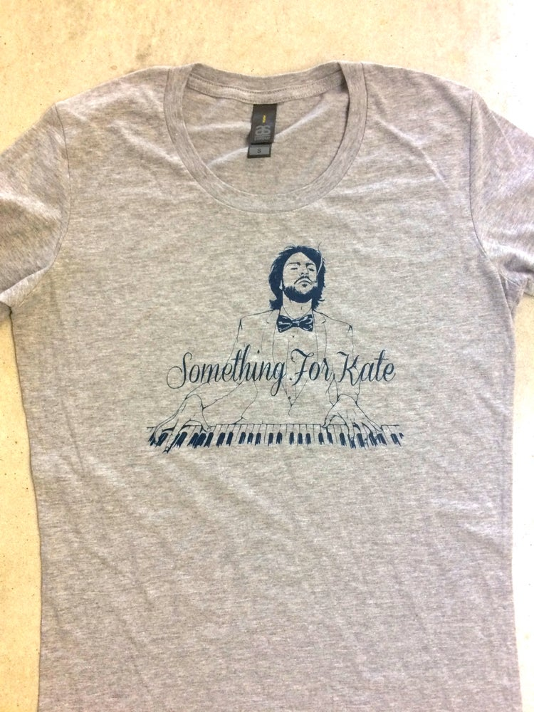 Image of Something for Kate - Piano tee - Marle Grey ladies