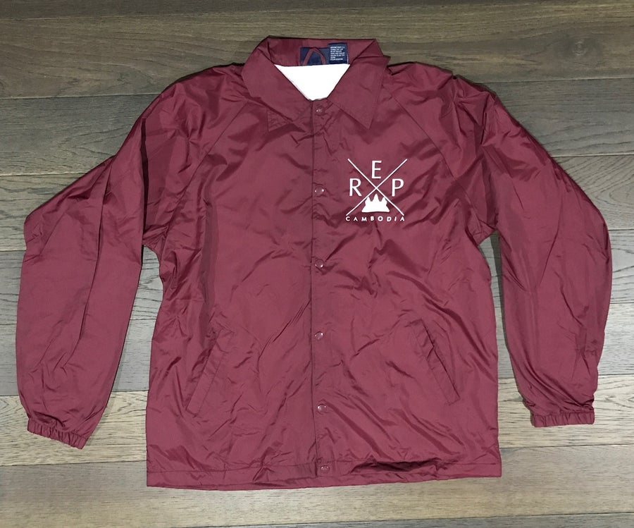Image of Rep Cambodia X Windbreaker Jacket