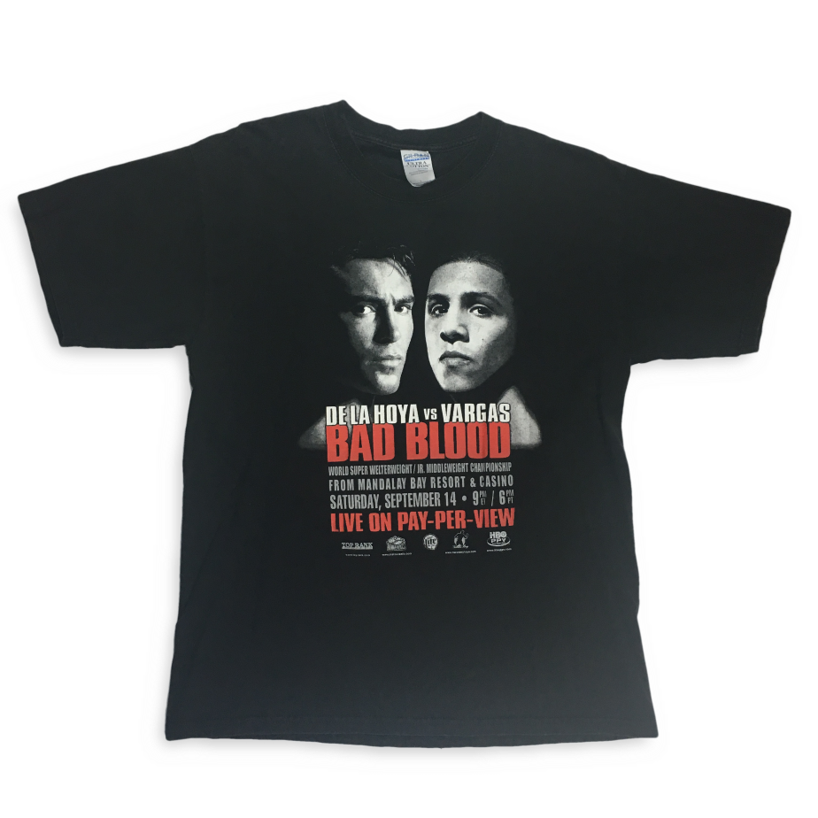 Image of De La Hoya vs. Vargas Bad Blood t-shirt