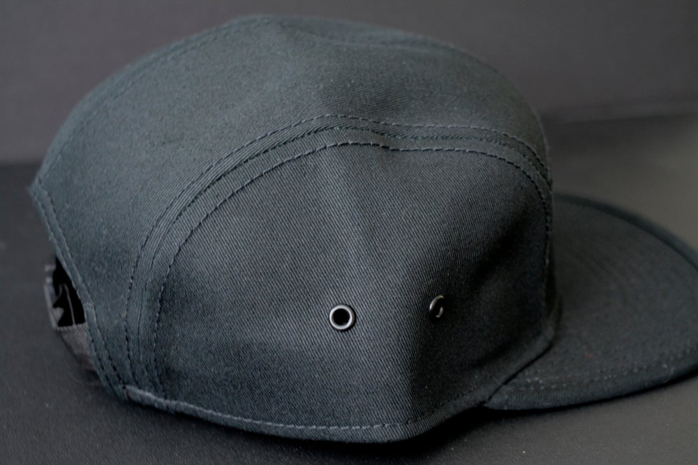 Image of Established Black 5-Panel Hat
