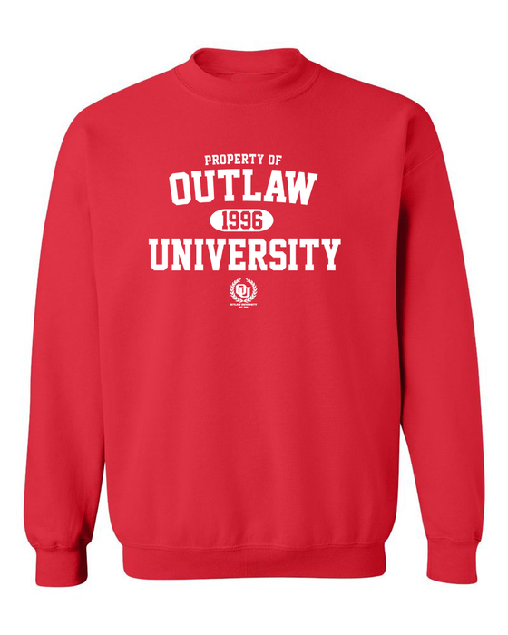 Image of OU Property Crewnecks- Comes in Grey,Black,Red,Navy Blue-CLICK HERE TO SEE ALL COLORS