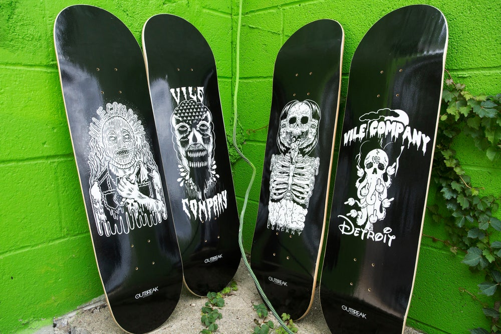 Image of SKATE DECKS!