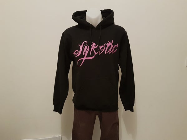 Image of OG Fleece Pullover Hood (Pink)