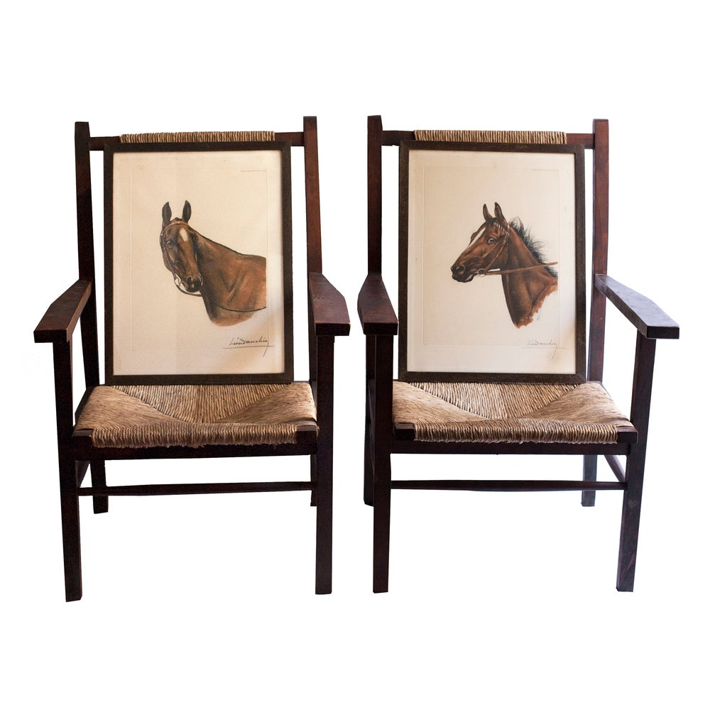 Image of Litografías de caballos