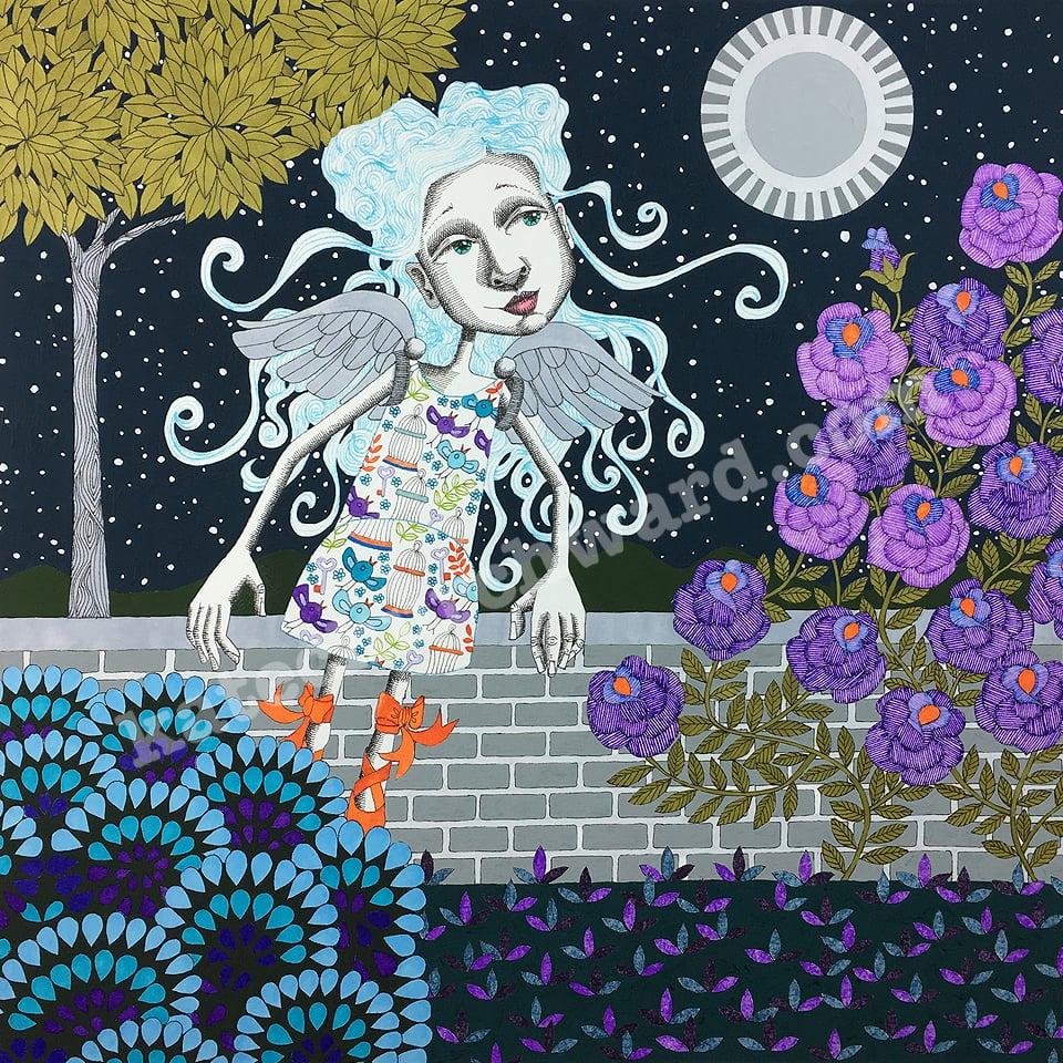 Image of Goddess #24 - Giclee print (A3)