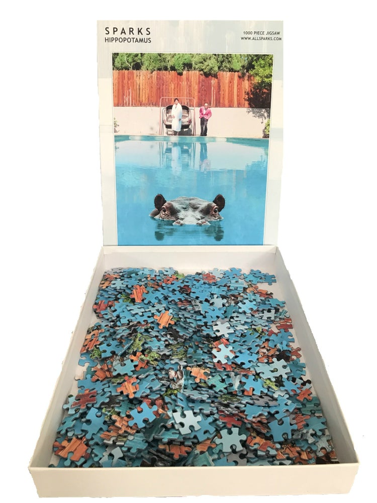 Image of Hippopotamus 1000 Piece Jigsaw (Limited Edition)
