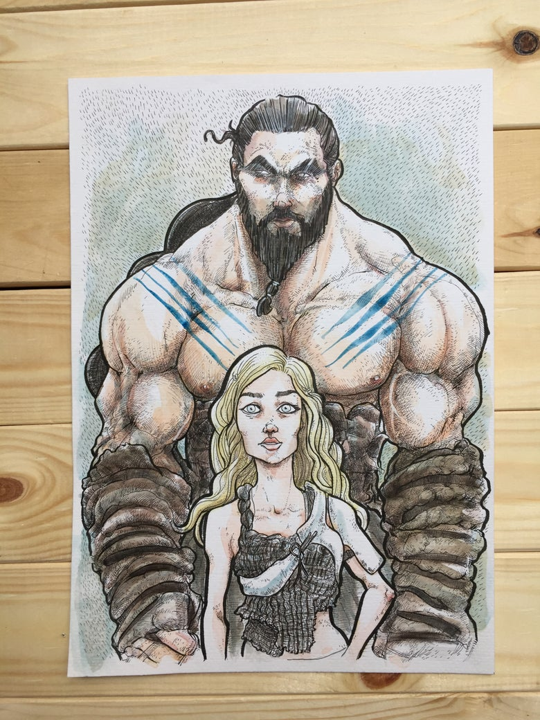 Image of Khalessi and Khal