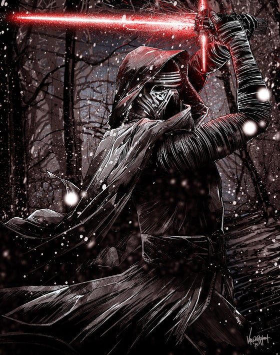 "Image of ""Kylo Ren"" - Inspired by Star Wars - The Force Awakens"