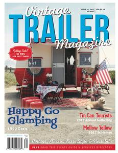 Image of Issue 34 Vintage Trailer Magazine