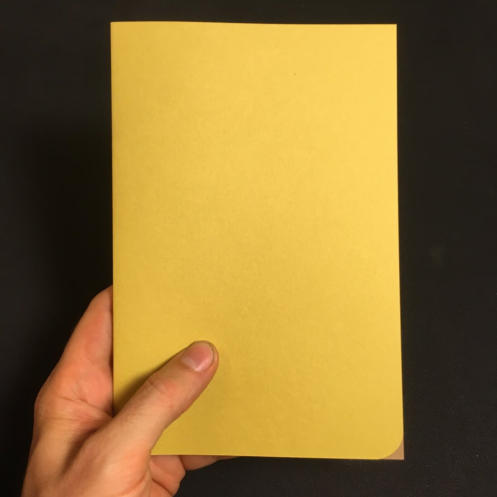 Image of Yellow Notebook