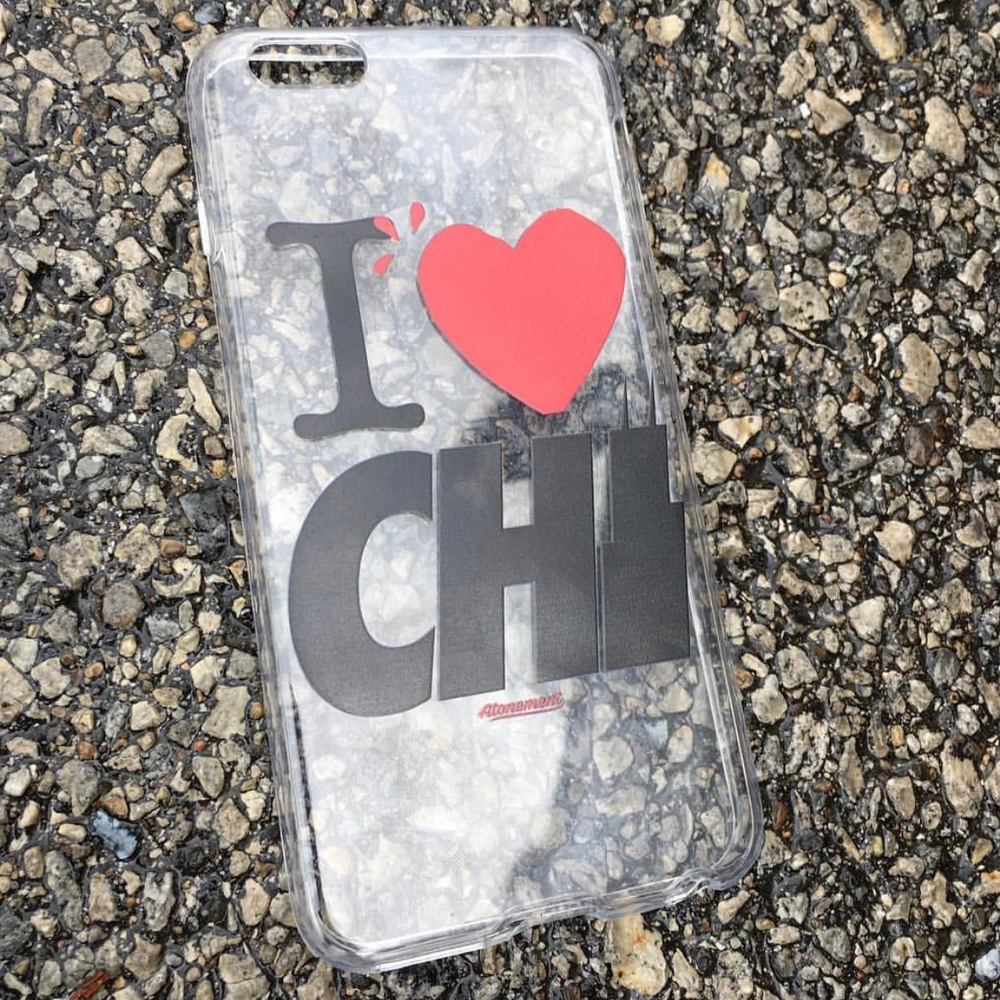 """Image of The """"I Heart Chi"""" iPhone 7 Plus Phonecase"""
