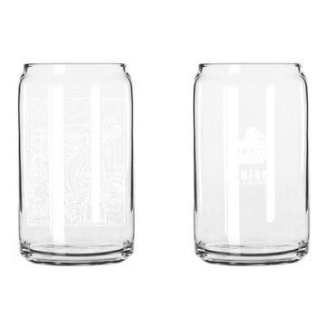 Image of XLARGE - PSYCHEDELIC LA GLASS