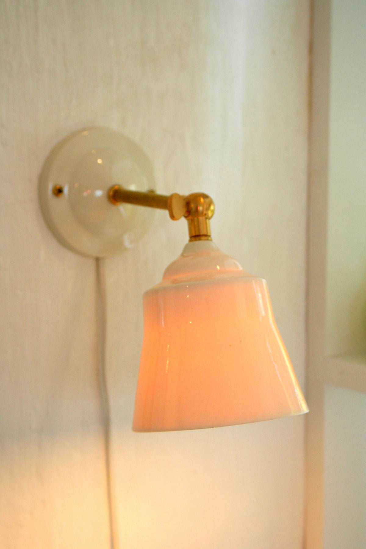 Image of Porcelæns lampe