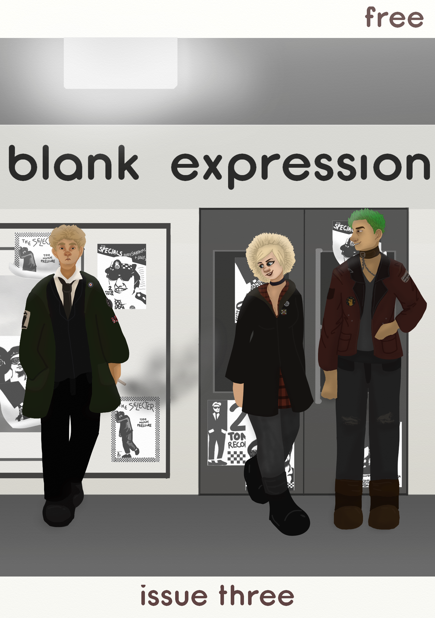Image of Blank Expression Issue 3