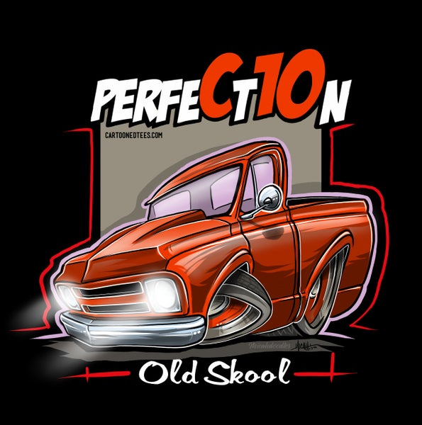 Image of Old Skool 67 Perfection Hugger Orange