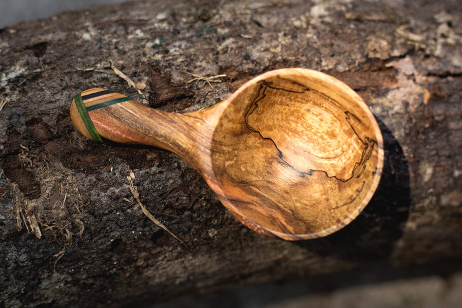Image of Spalted Maple Scoop