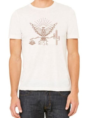 Image of RISE tank and t-shirt