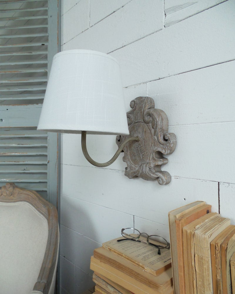 Image of Applique natural & wood